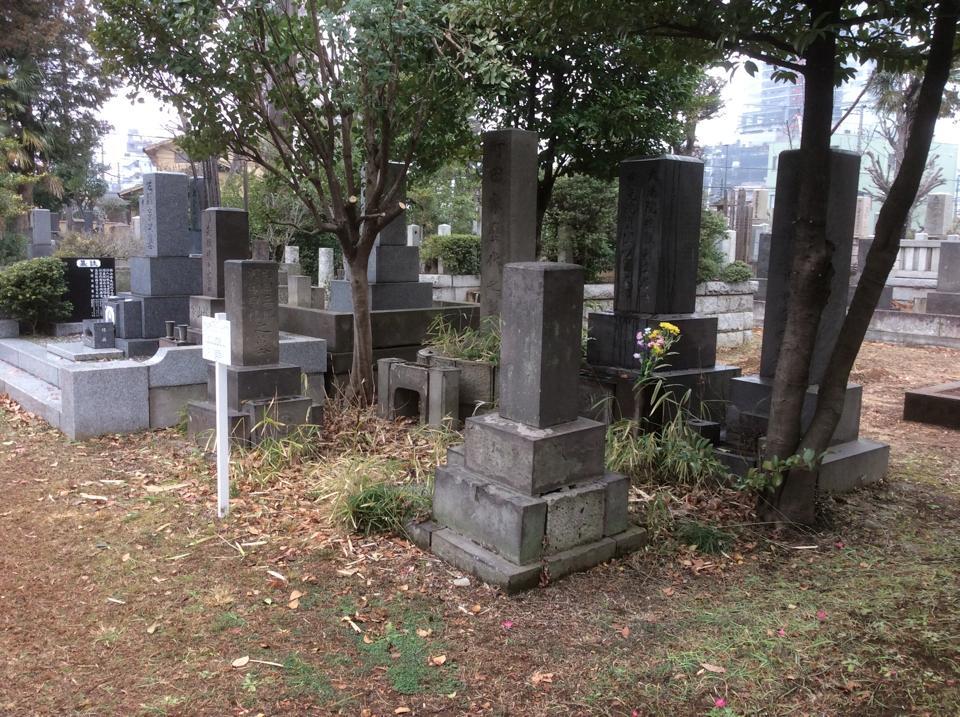 町田則文一家の墓所について